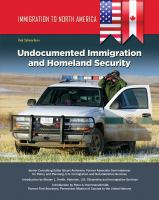 Undocumented Immigrants and Homeland Security