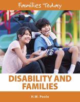 Disability and Families