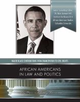 African Americans in Law and Politics