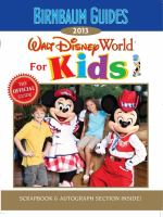 Walt Disney World for Kids