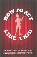 Image: How to Act Like A Kid