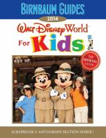 Walt Disney World for Kids 2014