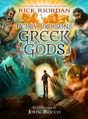 Percy Jackson's Greek Gods(book-cover)