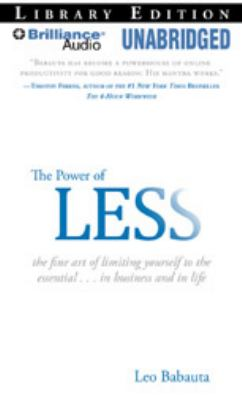 Cover image for The Power of Less