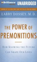 The Power of Premonitions