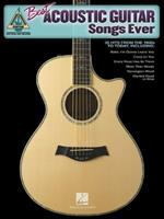 Best Acoustic Guitar Songs Ever