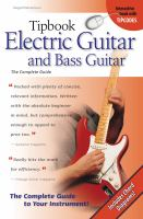 Tipbook Electric Guitar And Bass Guitar