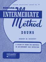 Rubank intermediate method [for] drums