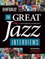 DownBeat, the Great Jazz Interviews