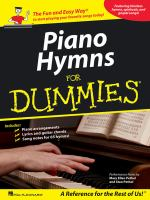 Piano Hymns for Dummies