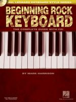 Beginning Rock Keyboard