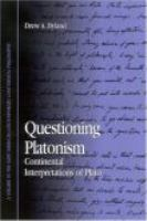 Questioning Platonism