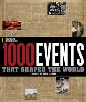 1000 Events That Shaped the World