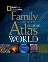 National Geographic Family Reference Atlas of the World