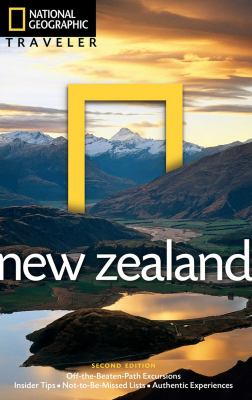 National Geographic Traveler: New Zealand cover