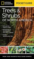 National Geographic Pocket Guide To Trees & Shrubs Of North America