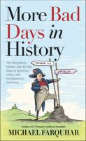 More Bad Days in History