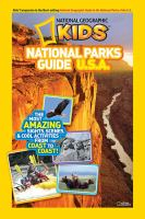 National Geographic Kids National Parks Guide U.S.A