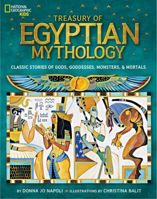 Cover image for Treasury of Egyptian Mythology