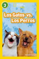 Los gatos vs. los perros