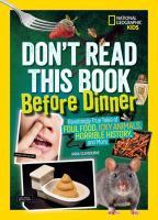 Don't Read This Book Before Dinner