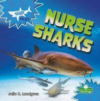 NURSE SHARKS--ON ORDER FOR HERRICK!
