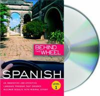 Behind the wheel Spanish