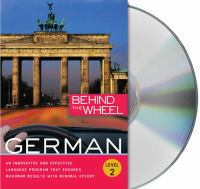 Behind the wheel German