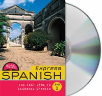 Express Spanish behind the wheel, level 1