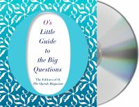 O's Little Guide to the Big Questions (CD)