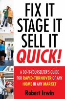 Fix It, Stage It, Sell It Quick