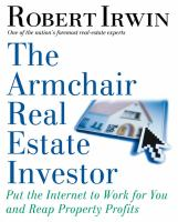 The Armchair Real Estate Investor