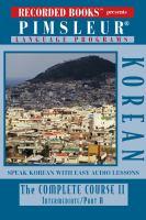 Korean, the Complete Course