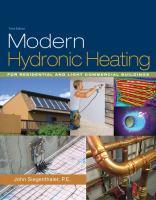 Modern Hydronic Heating