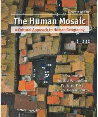 "Picture of the book cover for ""The Human Mosaic:  A Cultural Approach to Human Geography"""