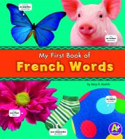 My First Book of French Words