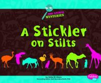 A Stickler on Stilts