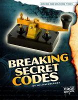 Breaking Secret Codes