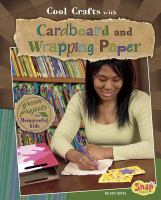 Cool Crafts With Cardboard and Wrapping Paper