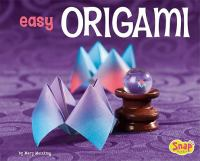 cover of easy origami by mary meinking