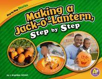 Making A Jack-o'-lantern