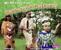 We All Come From Different Cultures