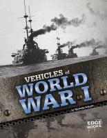 Vehicles of World War I