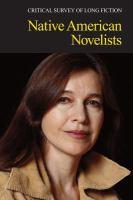 Native American Novelists