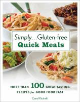 Simply-- Gluten-free Quick Meals