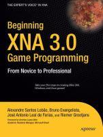 Beginning XNA 3.0 Game Programming