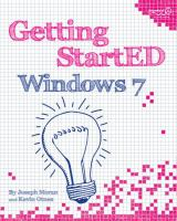 Getting StartED Windows 7