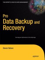 Pro Data Backup and Recovery