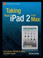 Taking your IPad 2 to the Max, Second Edition