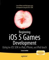 Beginning IOS 5 Games Development